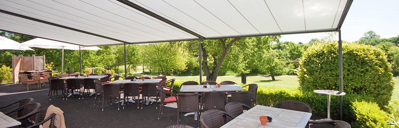 Markise F R Gastronomie Hotellerie Liefert Schwarze