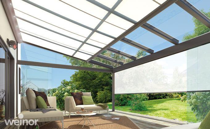 markisen beschatten terrassendach wintergarten. Black Bedroom Furniture Sets. Home Design Ideas